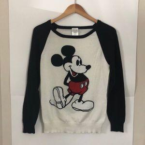 DISNEY Mickey Mouse Large crew neck sweater
